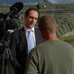 ITV Wales Interview, Aberystwyth