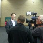 ITV Wales interview